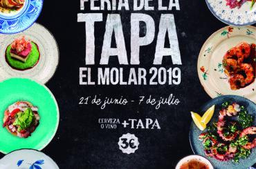 La Feria de la Tapa de El Molar se celebrará por tercer año consecutivo del 21 de junio al 7 de julio de 2019.