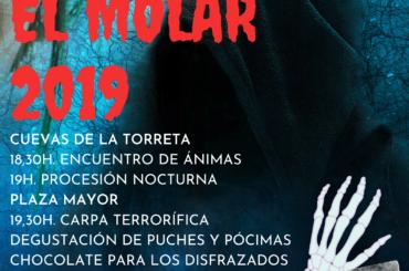 """Programa de """"Las Ánimas"""" 2019 en El Molar"""