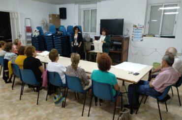 """En marcha el taller """"Buen trato"""" dirigida a las personas mayores de El Molar"""