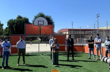 Nuevo complejo multideportivo en El Molar