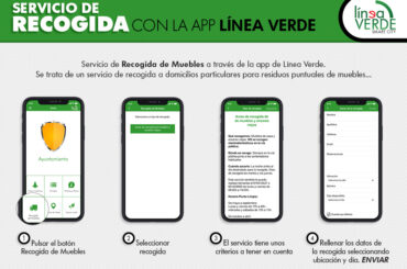 El Ayto. de El Molar pone en marcha el servicio de aviso de recogida de muebles a través de la App Línea Verde