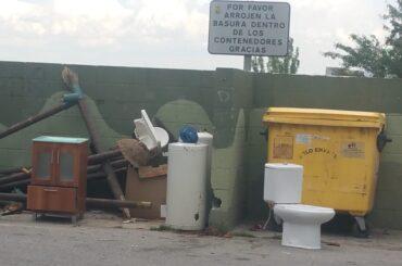 El Ayuntamiento de El Molar inicia una campaña de refuerzo de limpieza y recogida de residuos