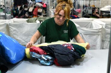 El Molar recoge más de 24 toneladas de textil recuperado para fines sociales, un registro superior al del año anterior