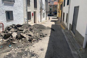 Comienzan las obras de reasfaltado en las calles Jiménez Díaz, Bruna Vázquez, Travesía de Santa Genoveva y Santa María.