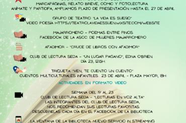 Mes del libro en El Molar. 23 de abril, Día Internacional del Libro.