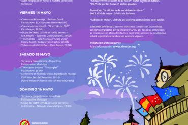 Los próximos días 13 y 14 de mayo se celebran en El Molar las Fiestas Patronales en honor a Ntra. Sra. del Remolino.