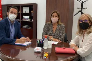 Reunión con el director de Área Territorial de Educación Madrid Norte