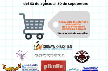 Septiembre es más fácil comprando en los Comercios Activos de El Molar