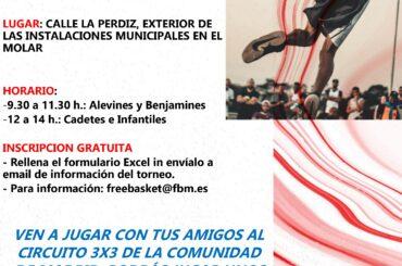 El Circuito 3×3 Comunidad de Madrid se jugará el 18 de septiembre en El Molar
