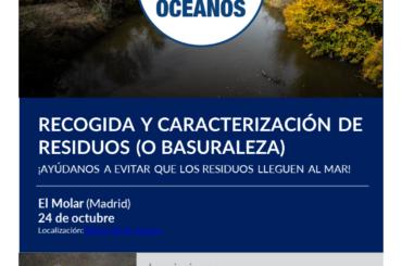 El 24 de octubre, nueva fecha de recogida de Basuraleza en El Molar