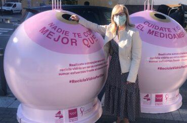 Ecovidrio y el Ayuntamiento de El Molar presentan la campaña solidaria 'Recicla Vidrio por ellas' en colaboración con la Fundación Sandra Ibarra